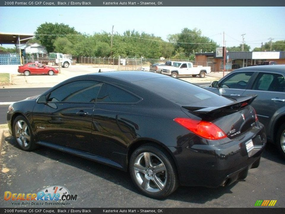 2008 pontiac g6 gxp coupe black ebony black photo 7. Black Bedroom Furniture Sets. Home Design Ideas