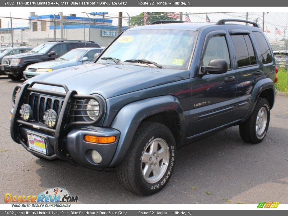 2002 Jeep Liberty Limited 4x4 Steel Blue Pearlcoat Dark