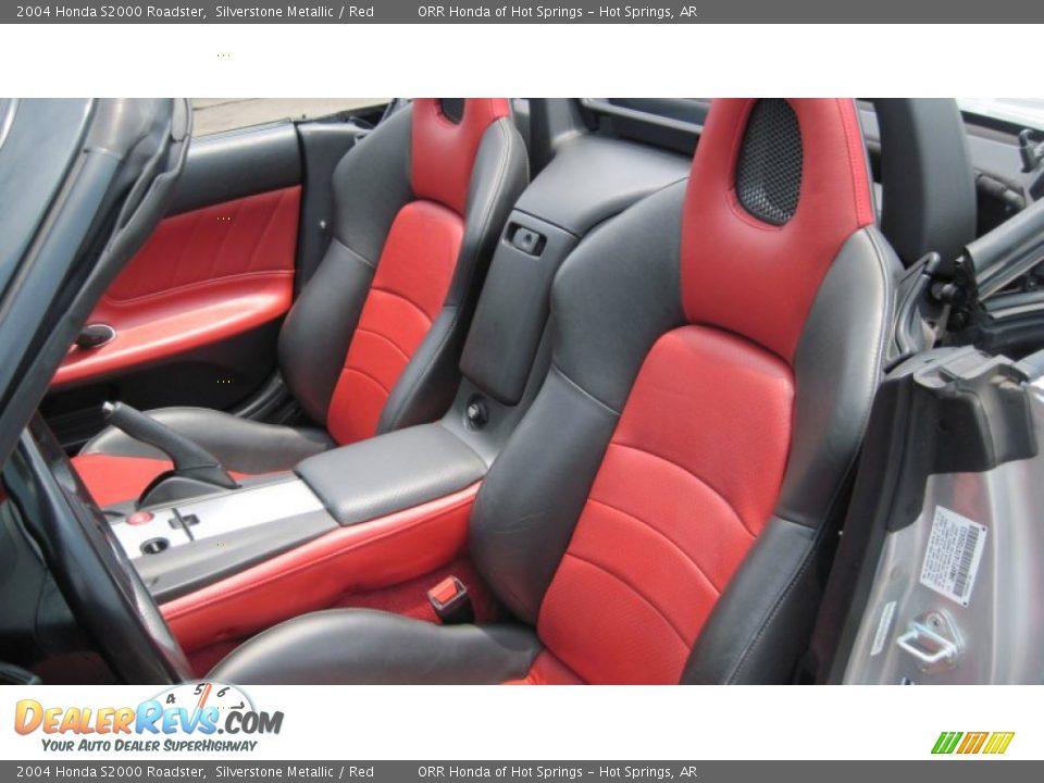 Red Interior 2004 Honda S2000 Roadster Photo 11