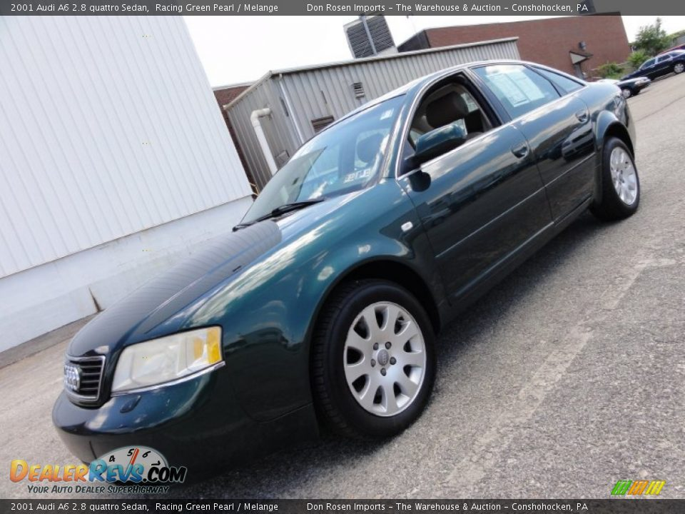 2001 audi a6 2 8 quattro sedan racing green pearl melange photo 2. Black Bedroom Furniture Sets. Home Design Ideas