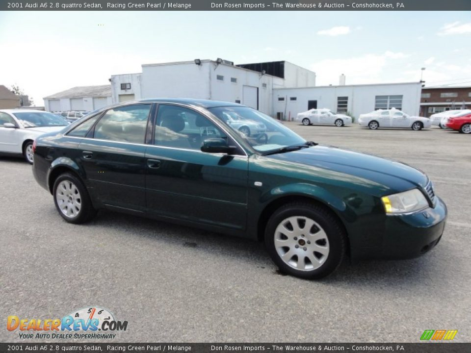 racing green pearl 2001 audi a6 2 8 quattro sedan photo 6. Black Bedroom Furniture Sets. Home Design Ideas