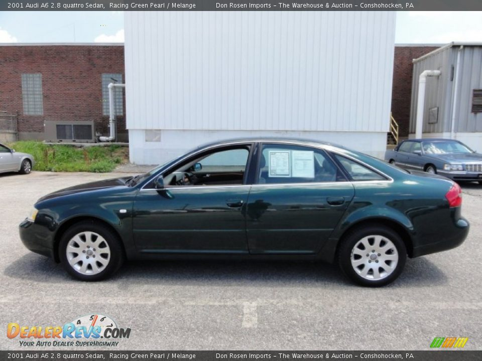 2001 audi a6 2 8 quattro sedan racing green pearl melange photo 11. Black Bedroom Furniture Sets. Home Design Ideas