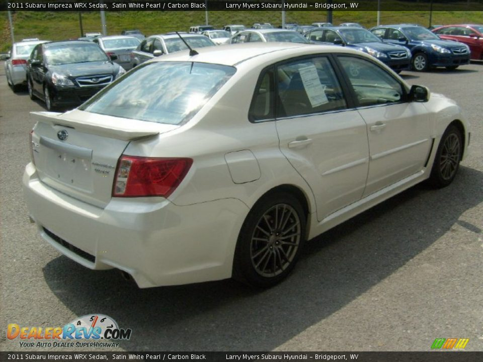 2011 Subaru Impreza Wrx Sedan Satin White Pearl Carbon