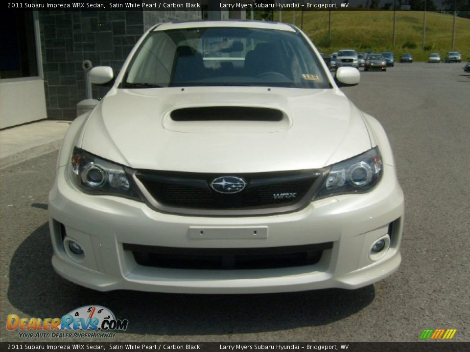 2011 subaru impreza wrx sedan satin white pearl carbon black photo 7. Black Bedroom Furniture Sets. Home Design Ideas
