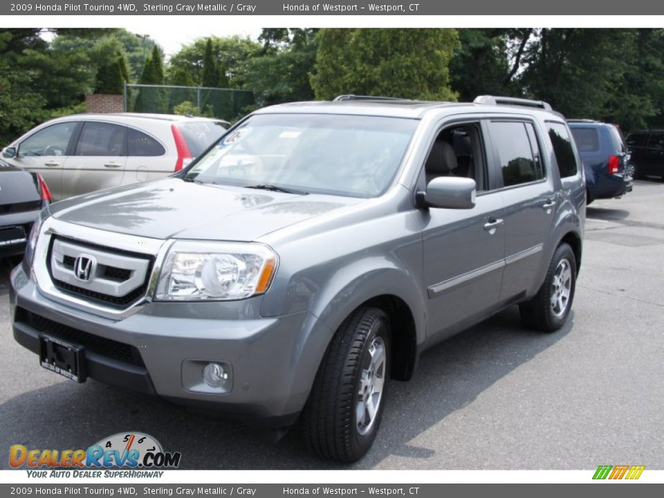 2009 honda pilot touring 4wd sterling gray metallic gray. Black Bedroom Furniture Sets. Home Design Ideas