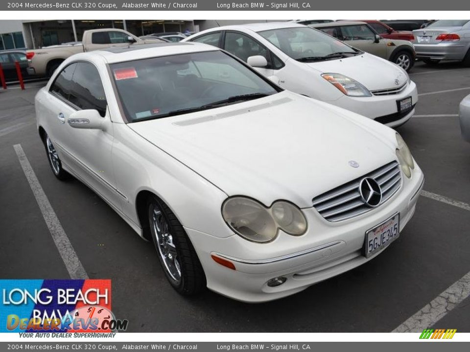 2004 mercedes benz clk 320 coupe alabaster white for 2004 mercedes benz clk500 coupe