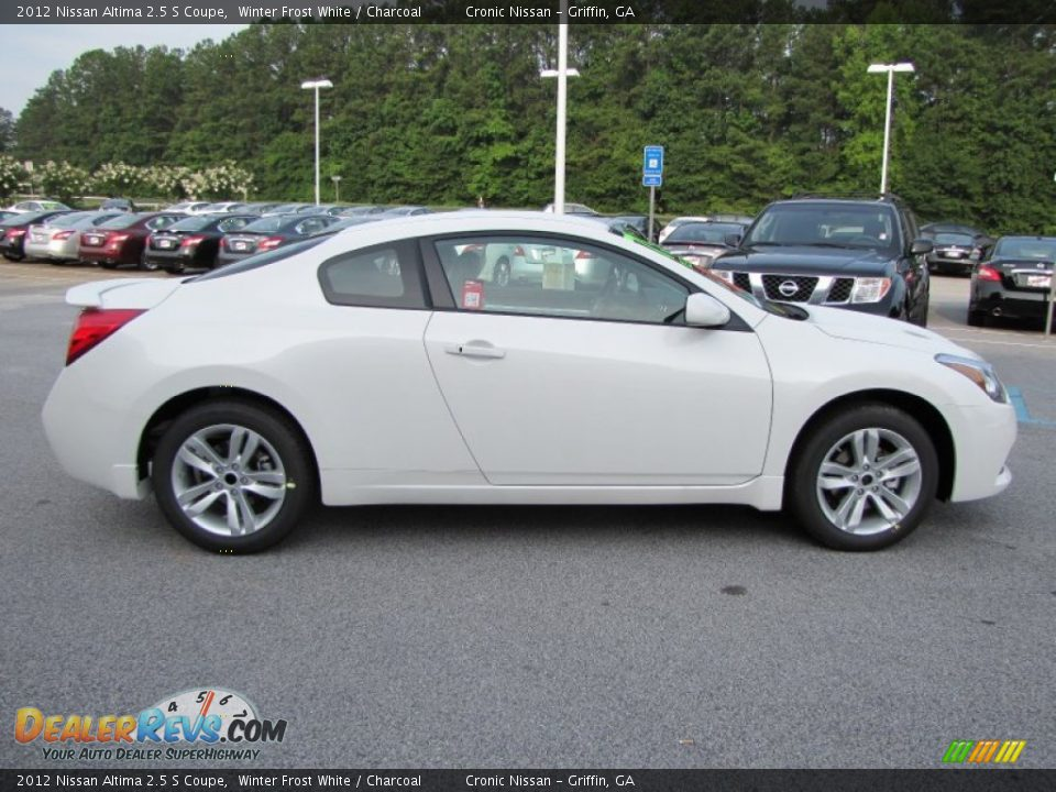 winter frost white 2012 nissan altima 2 5 s coupe photo 6. Black Bedroom Furniture Sets. Home Design Ideas