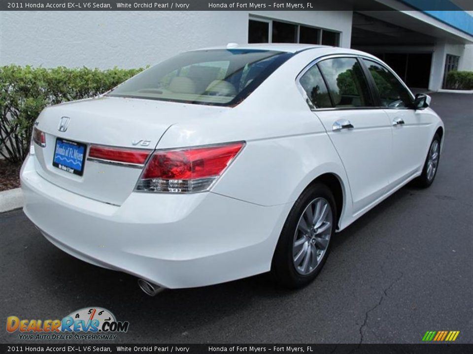 2011 honda accord ex l v6 sedan white orchid pearl ivory photo 3. Black Bedroom Furniture Sets. Home Design Ideas