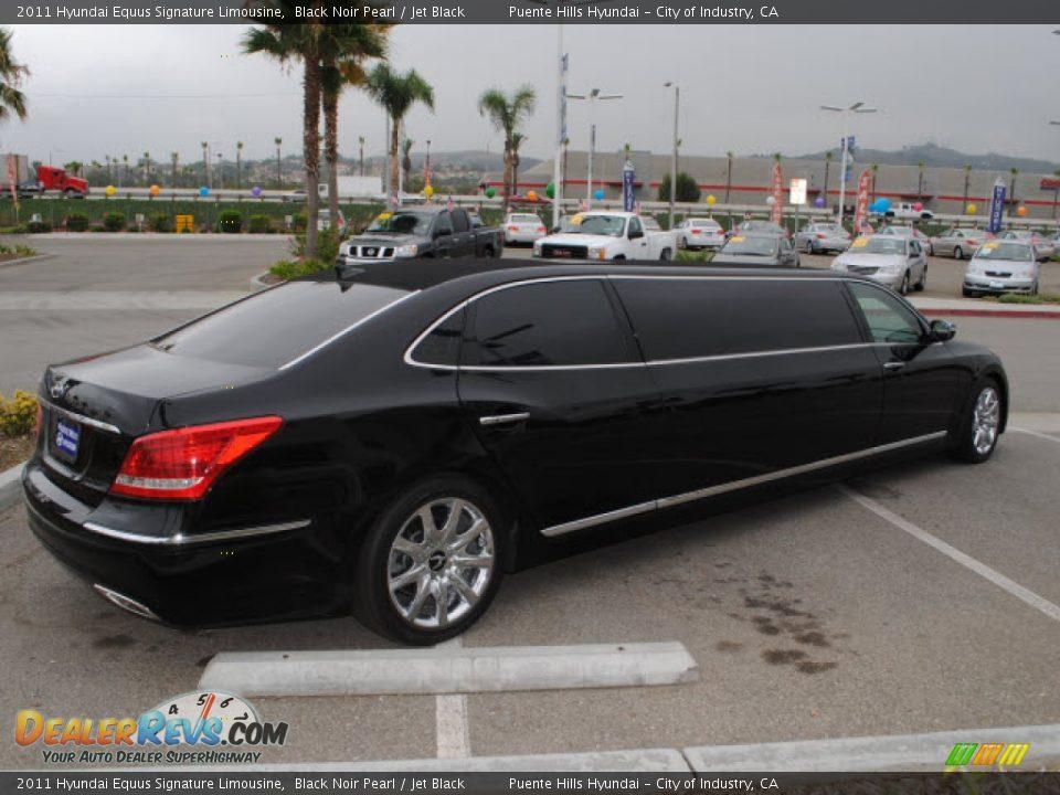 2011 Hyundai Equus Signature Limousine Black Noir Pearl