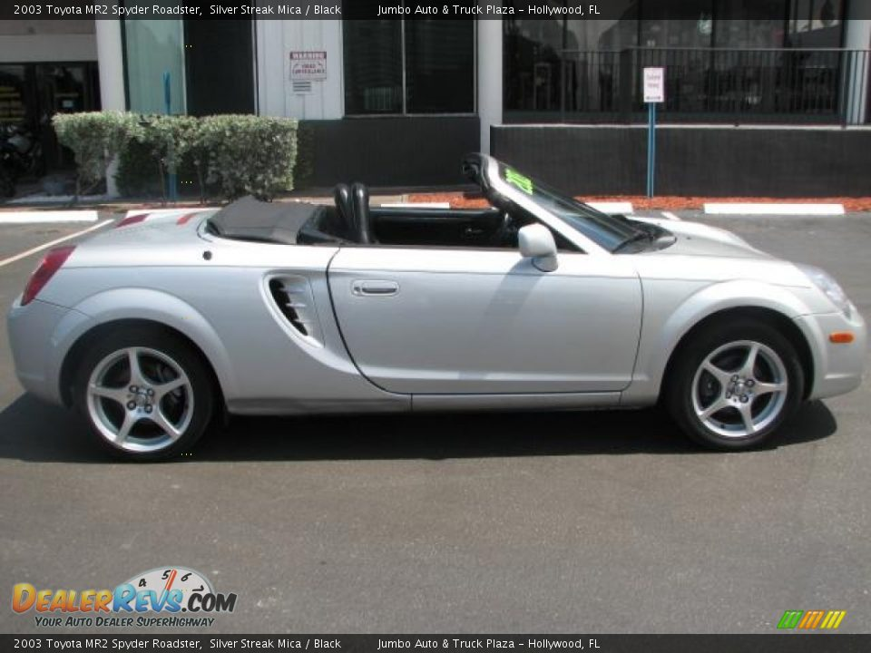 Silver Streak Mica 2003 Toyota Mr2 Spyder Roadster Photo