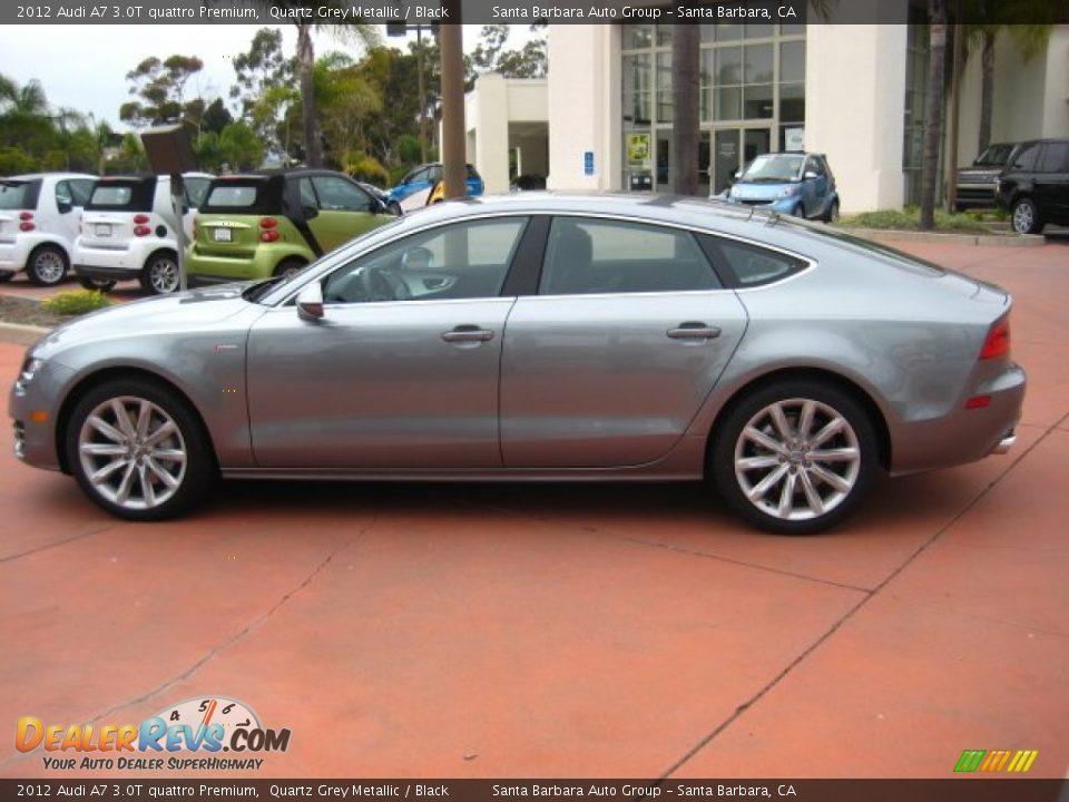 Quartz Grey Metallic 2012 Audi A7 3 0t Quattro Premium