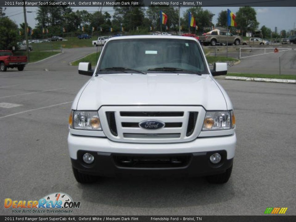 2011 ford ranger sport supercab 4x4 oxford white medium dark flint photo 3. Black Bedroom Furniture Sets. Home Design Ideas