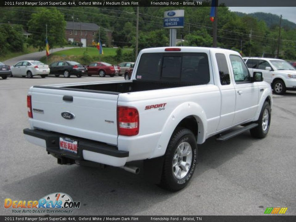 2011 ford ranger sport supercab 4x4 oxford white medium dark flint photo 6. Black Bedroom Furniture Sets. Home Design Ideas