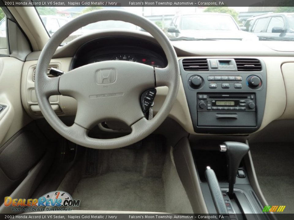 Dashboard Of 2001 Honda Accord Lx V6 Sedan Photo 9
