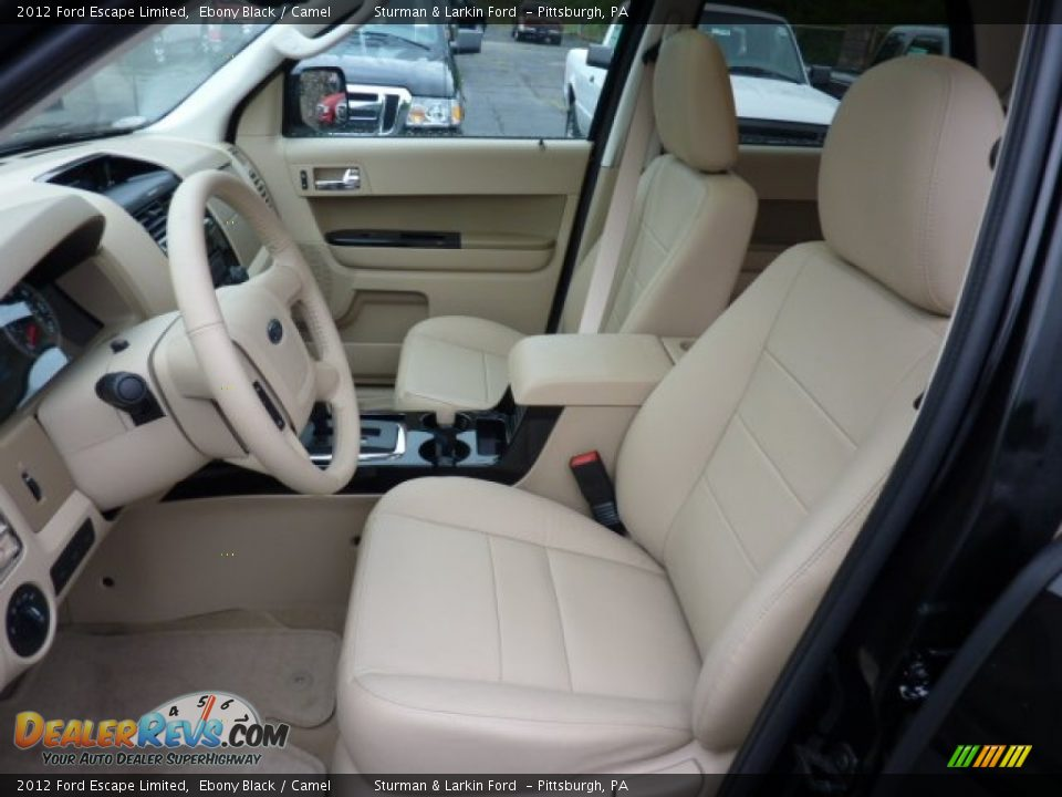 camel interior 2012 ford escape limited photo 8. Black Bedroom Furniture Sets. Home Design Ideas