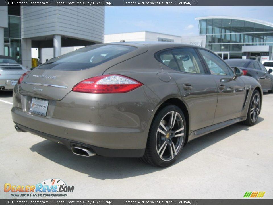 2011 Porsche Panamera V6 Topaz Brown Metallic Luxor