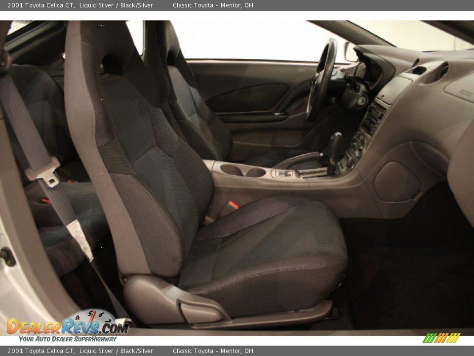 Black Silver Interior 2001 Toyota Celica Gt Photo 15 Dealerrevs Com