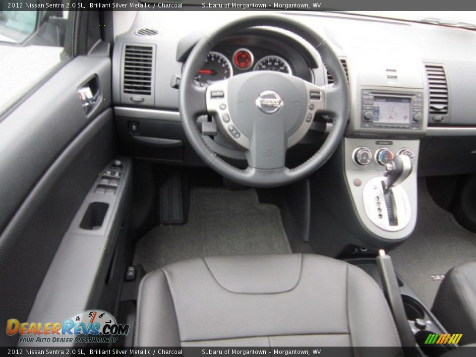 dashboard of 2012 nissan sentra 2 0 sl photo 17. Black Bedroom Furniture Sets. Home Design Ideas
