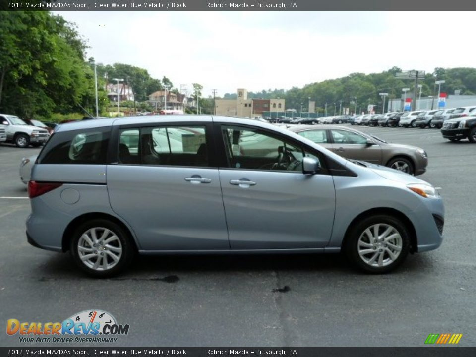 clear water blue metallic 2012 mazda mazda5 sport photo 5. Black Bedroom Furniture Sets. Home Design Ideas