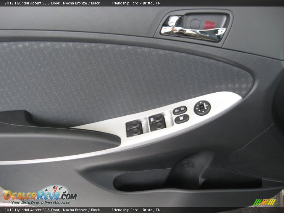 2012 Hyundai Accent Se 5 Door Mocha Bronze Black Photo