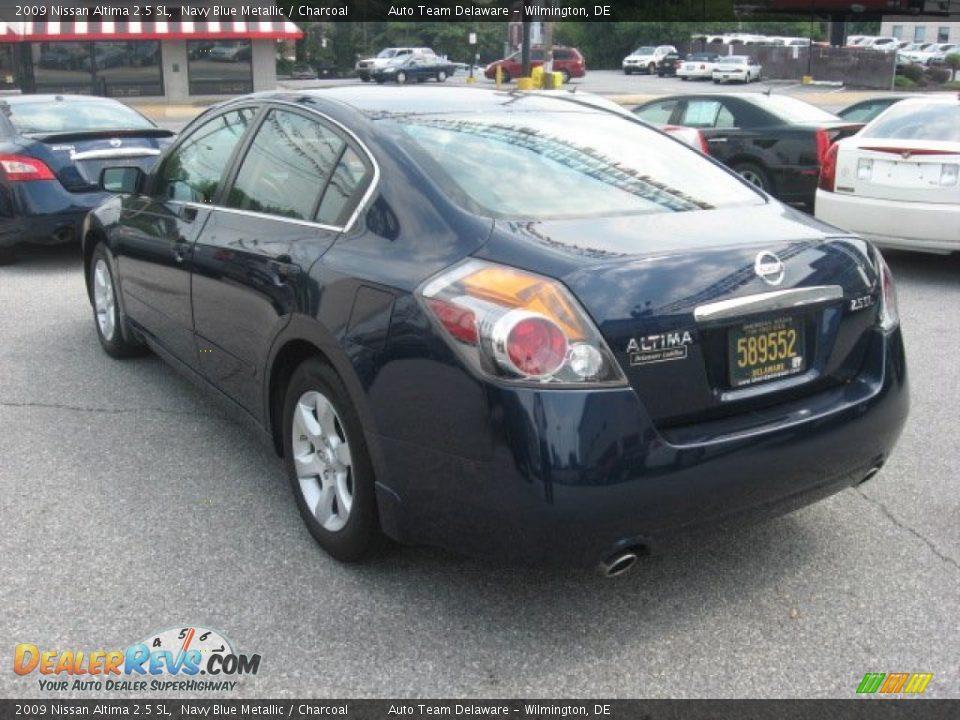2009 Nissan Altima 2 5 Sl Navy Blue Metallic Charcoal