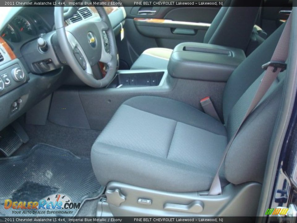 chevrolet avalanche interior ebony - photo #5