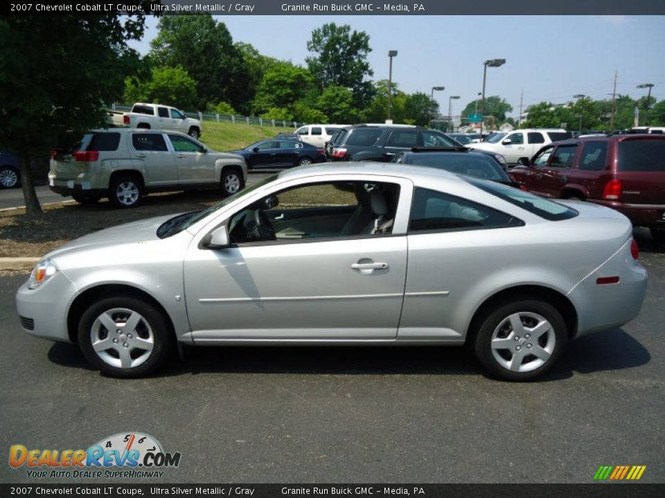 2007 chevrolet cobalt lt coupe ultra silver metallic. Black Bedroom Furniture Sets. Home Design Ideas
