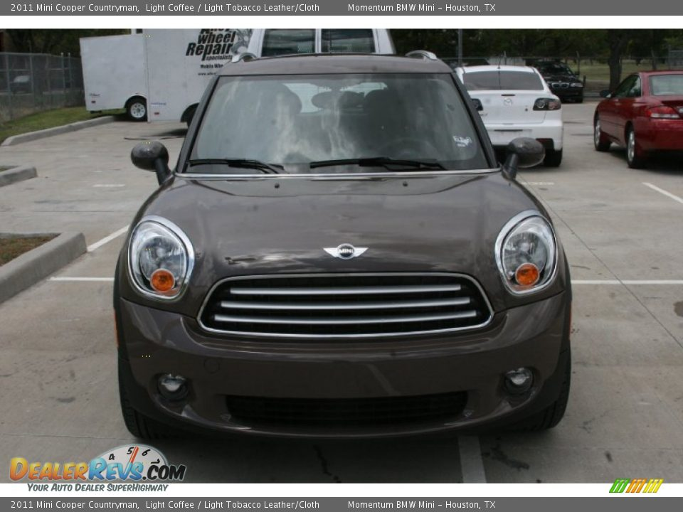 2011 mini cooper countryman light coffee light tobacco leather cloth photo 2. Black Bedroom Furniture Sets. Home Design Ideas