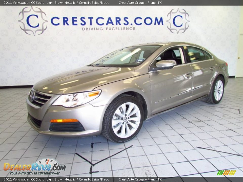 2011 volkswagen cc sport light brown metallic cornsilk beige black photo 3. Black Bedroom Furniture Sets. Home Design Ideas