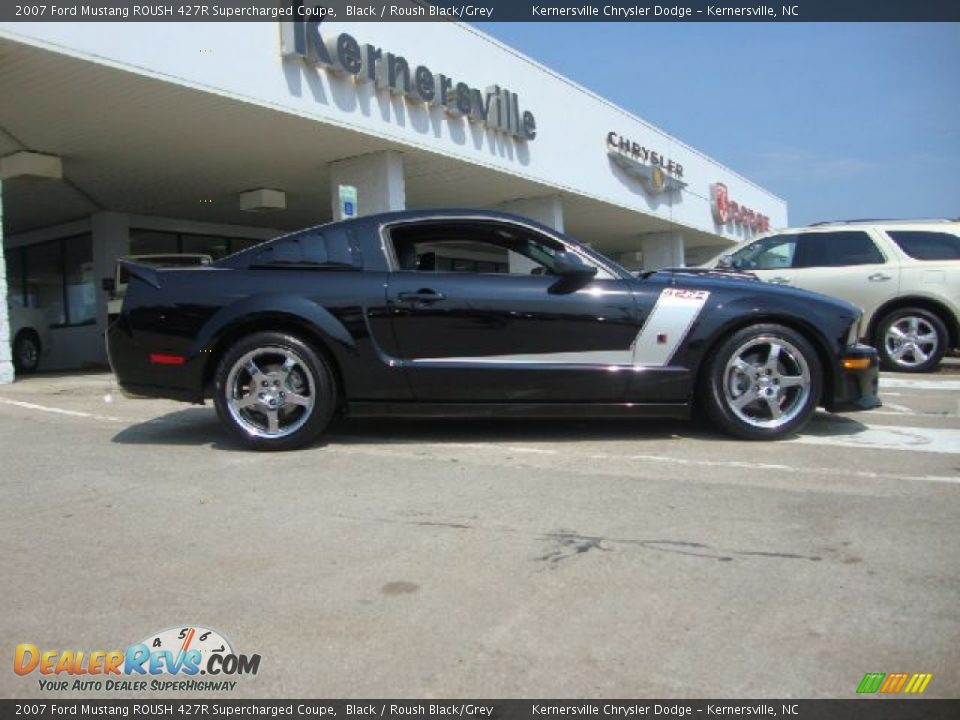 2007 ford mustang roush 427r supercharged coupe black. Black Bedroom Furniture Sets. Home Design Ideas