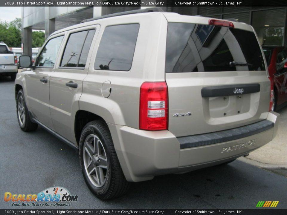 2009 jeep patriot sport 4x4 light sandstone metallic. Black Bedroom Furniture Sets. Home Design Ideas