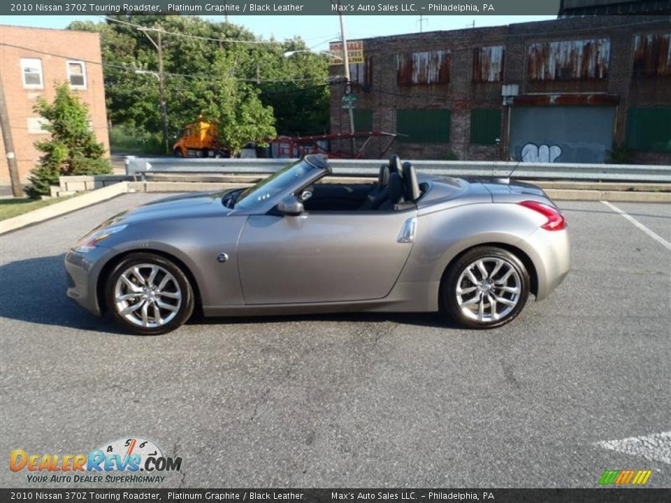 platinum graphite 2010 nissan 370z touring roadster photo. Black Bedroom Furniture Sets. Home Design Ideas