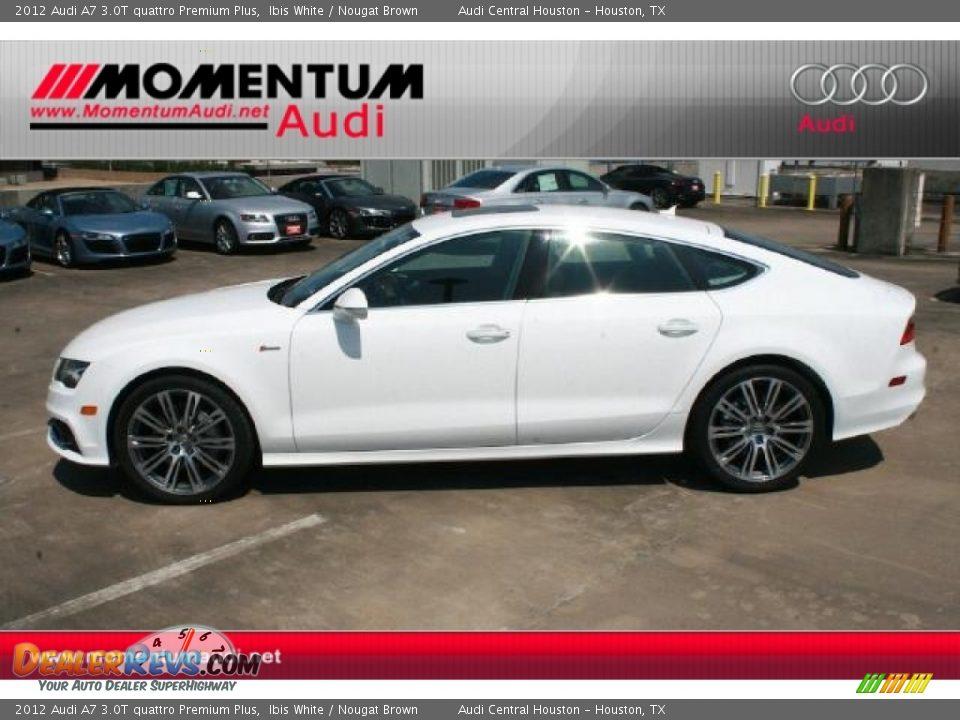 2012 Audi A7 3 0t Quattro Premium Plus Ibis White Nougat