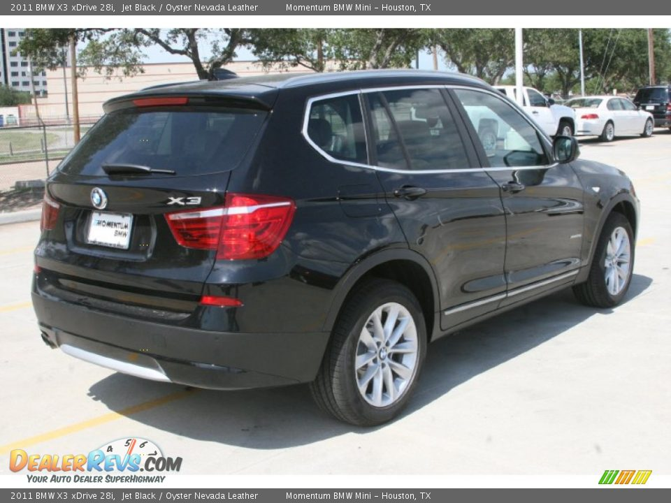 2011 bmw x3 xdrive 28i jet black oyster nevada leather photo 3. Black Bedroom Furniture Sets. Home Design Ideas