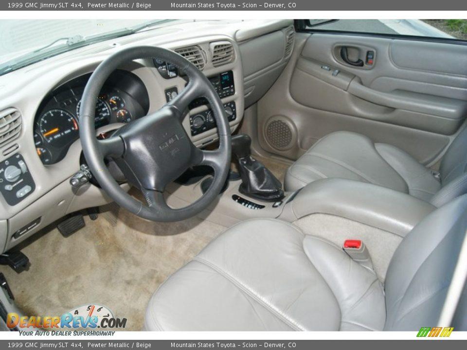 beige interior 1999 gmc jimmy slt 4x4 photo 9 dealerrevs com dealerrevs com