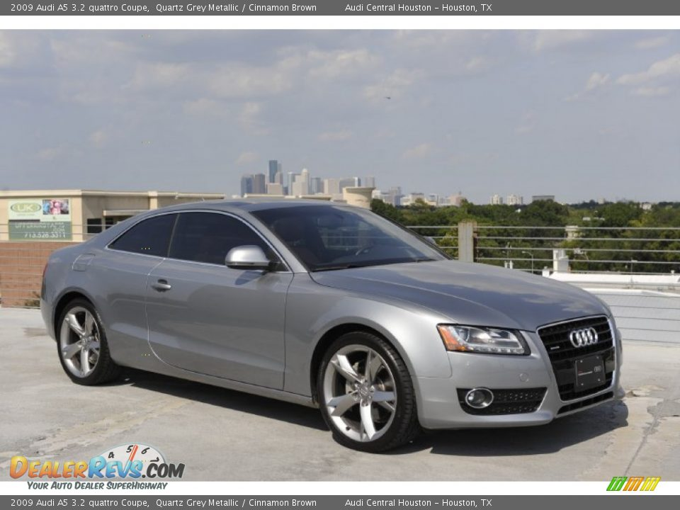 Quartz Grey Metallic 2009 Audi A5 3 2 Quattro Coupe Photo