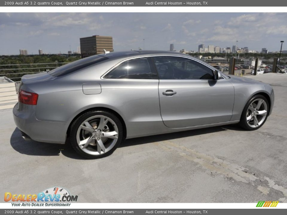 2009 Audi A5 3 2 Quattro Coupe Quartz Grey Metallic