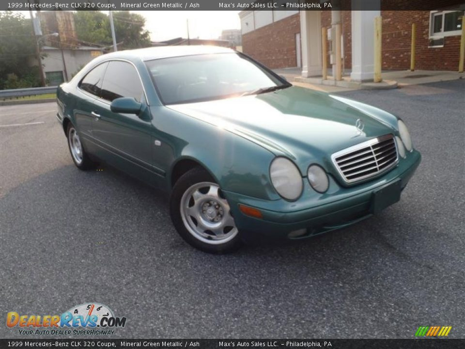 1999 mercedes benz clk 320 coupe mineral green metallic ash photo 2. Black Bedroom Furniture Sets. Home Design Ideas