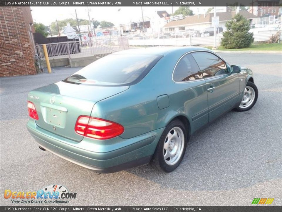 1999 mercedes benz clk 320 coupe mineral green metallic ash photo 4. Black Bedroom Furniture Sets. Home Design Ideas
