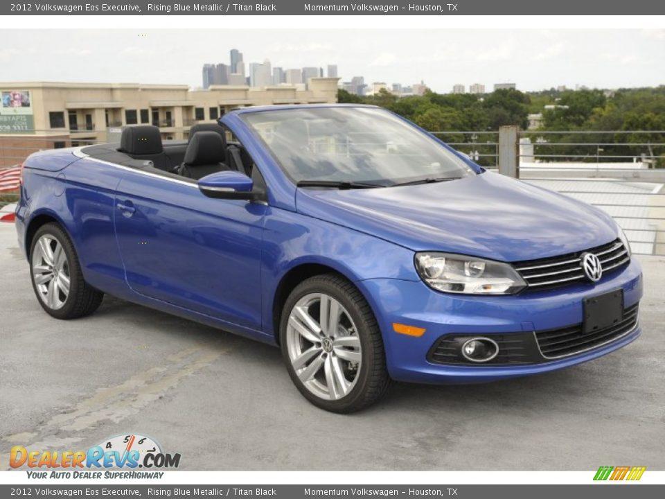 Rising Blue Metallic 2012 Volkswagen Eos Executive Photo ...