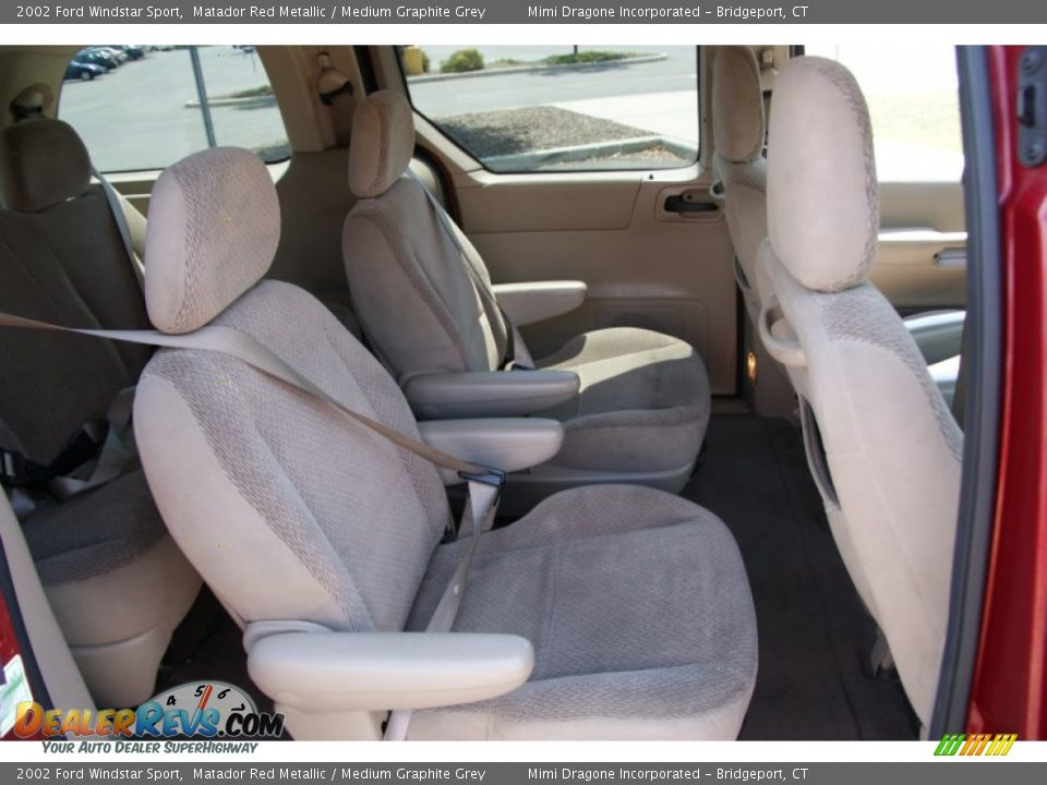 medium graphite grey interior 2002 ford windstar sport photo 16 dealerrevs com dealerrevs com