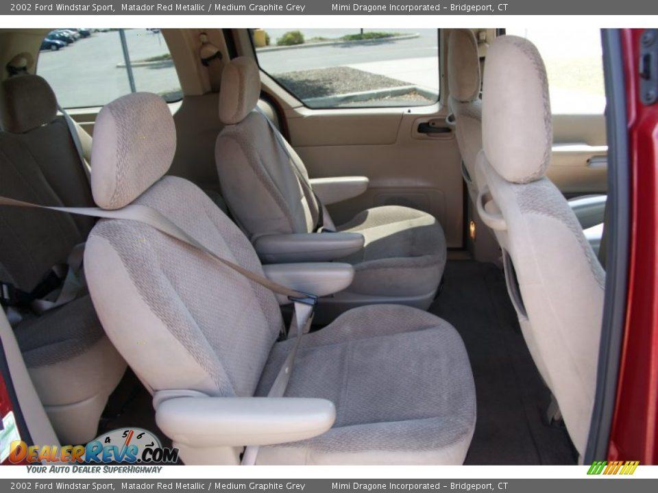medium graphite grey interior 2002 ford windstar sport photo 16 dealerrevs com dealerrevs com