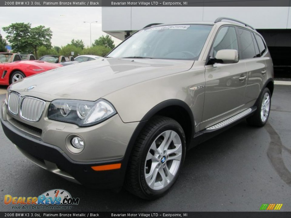 2008 bmw x3 platinum bronze metallic black photo. Black Bedroom Furniture Sets. Home Design Ideas