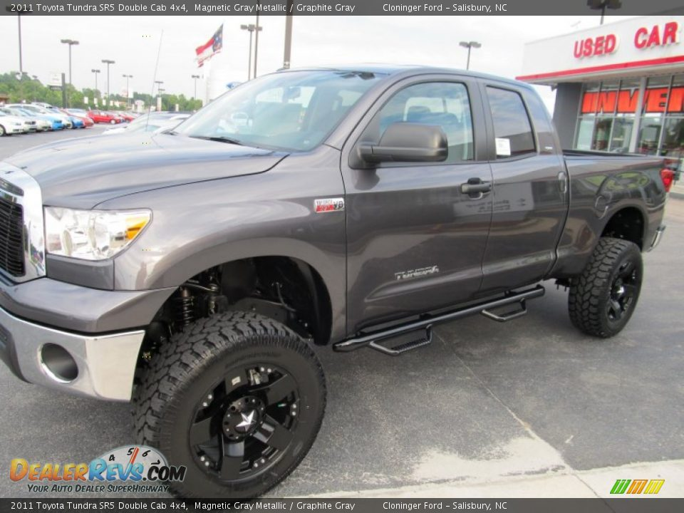 2011 Toyota Tundra Sr5 Double Cab 4x4 Magnetic Gray