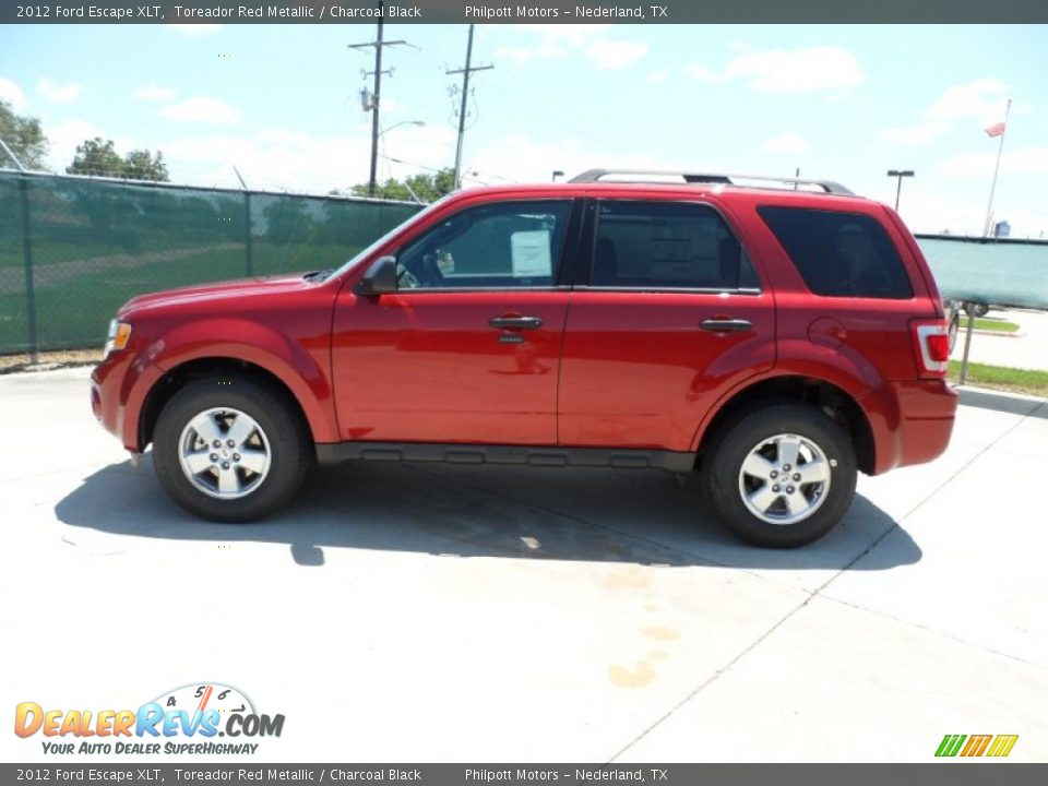 2012 Ford Escape Xlt Toreador Red Metallic Charcoal
