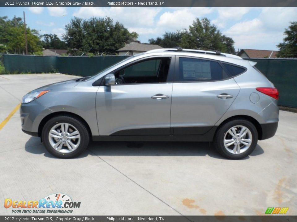 Graphite Gray 2012 Hyundai Tucson GLS Photo #6 | DealerRevs.com