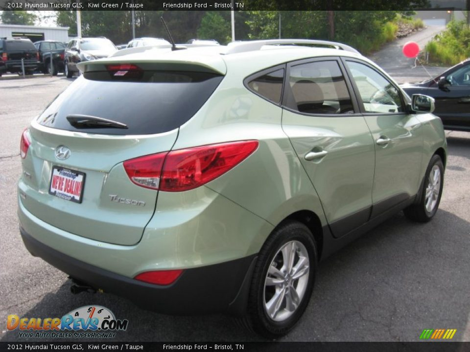 2012 Hyundai Tucson Gls Kiwi Green Taupe Photo 6