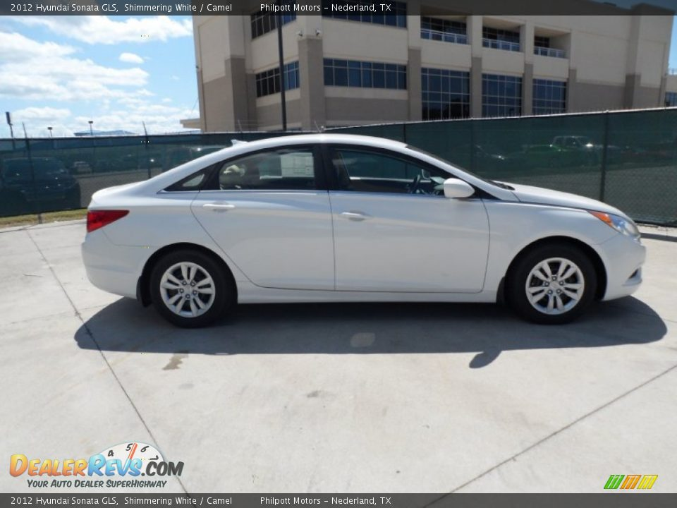 2012 hyundai sonata gls shimmering white camel photo 2 dealerrevs. Black Bedroom Furniture Sets. Home Design Ideas
