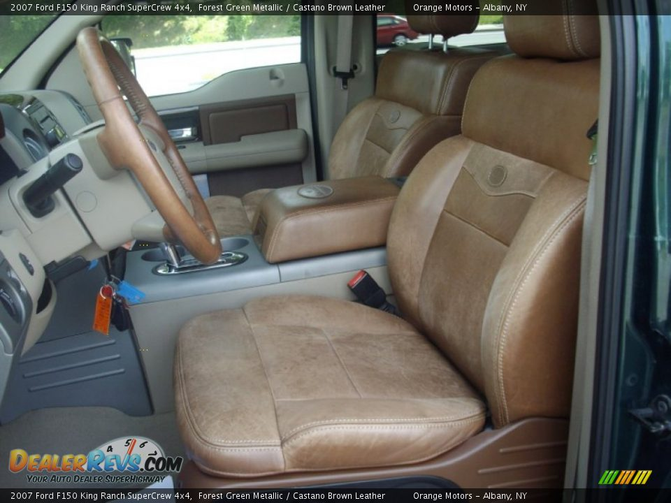 ... Leather Interior - 2007 Ford F150 King Ranch SuperCrew 4x4 Photo #14