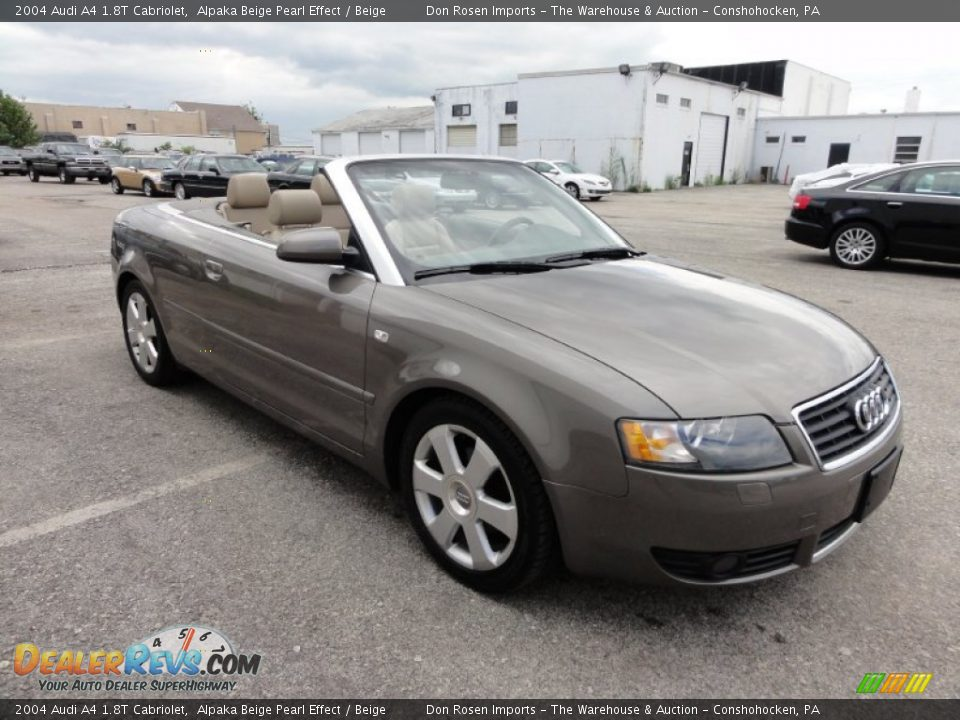 2004 audi a4 1 8t cabriolet alpaka beige pearl effect beige photo 4. Black Bedroom Furniture Sets. Home Design Ideas
